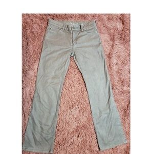Anthropologie MIH London Bootcut Gray Jeans